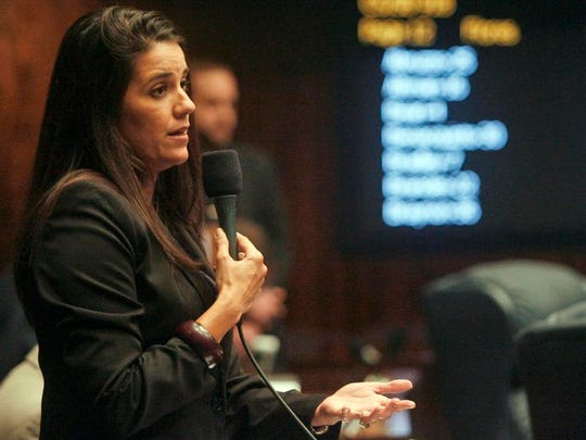 Sen. Anitere Flores had an A+ NRA rating when she voted last year against loosening gun regulations