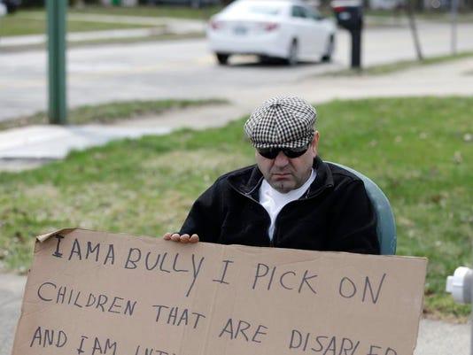 APTOPIX I Am a Bully Sentence