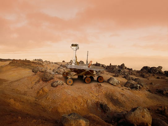 try thinking about what a trip to Mars would be like