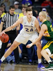 SIOUX FALLS, SD - MARCH 5:  Mike Daum #24 of South