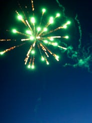 Neenah residents think the booms were caused by someone shooting off illegal fireworks.
