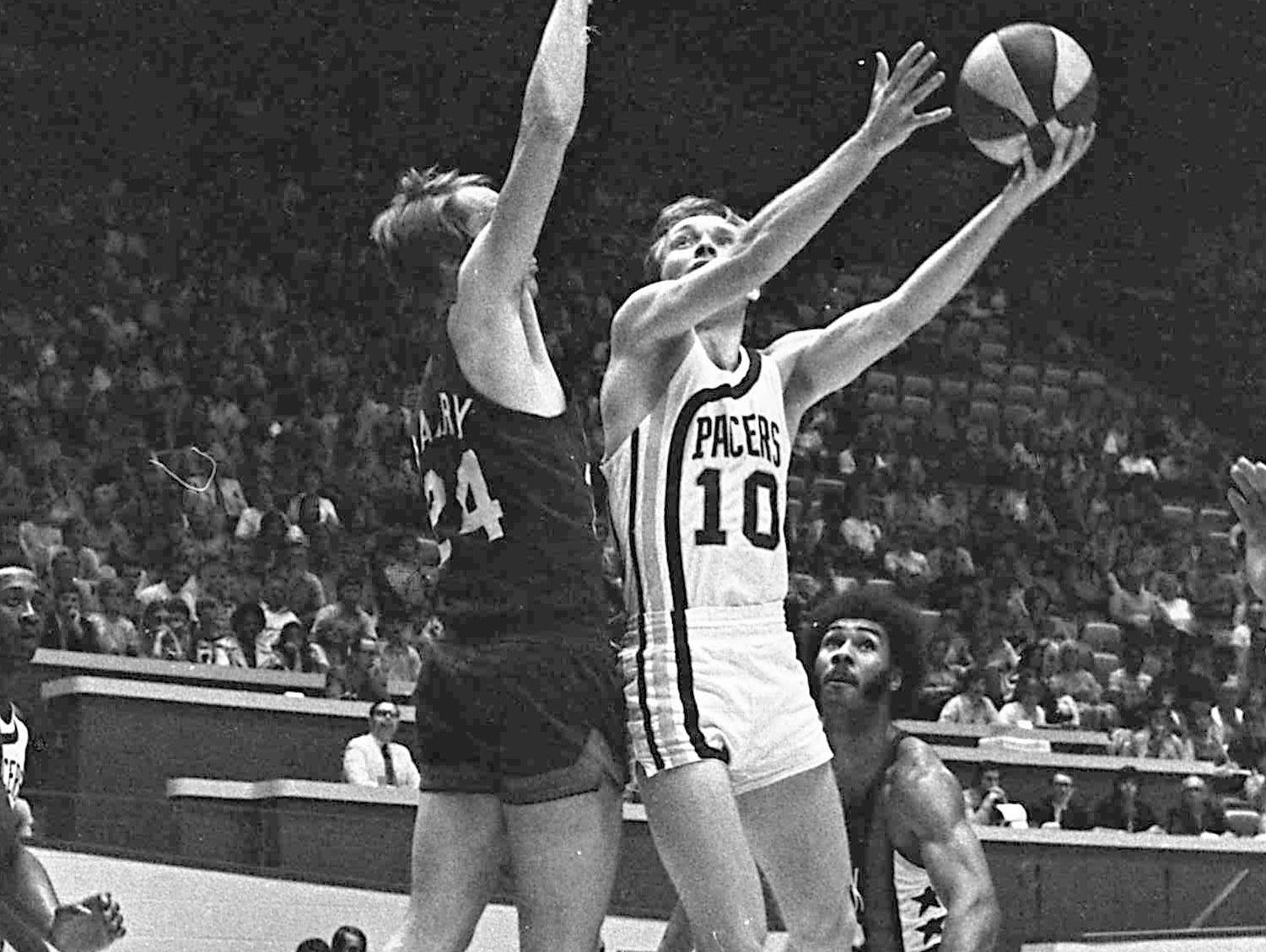 Rick Mount averaged 11.8 points per game in five injury-plagued seasons with the Pacers.