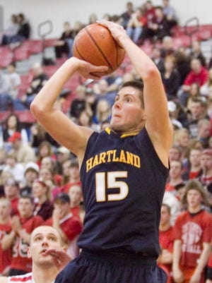 Hartland's Matt Poches averaged 24.5 points per game in 2010-11, including 29.7 points in three district victories.