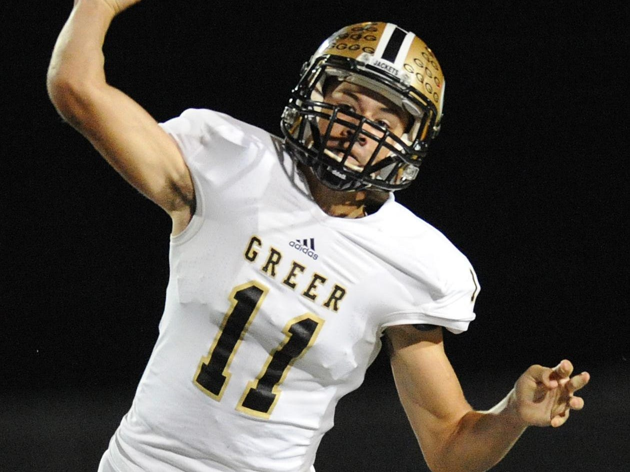 Quarterback Mario Cusano directed the Greer offense Tuesday in the Yellow Jackets' run to the championship of the Newberry College 7-on-7 tournament.