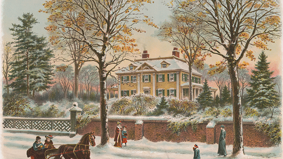 Henry Wadsworth Longfellow's home in Cambridge, Massachusetts suggests peace and prosperity. But the poet, renowned even in his own day, faced ongoing troubles including the death of his wife in a freak fire and the severe wounding of his son in a Civil War skirmish.