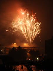Fireworks are the climax of many July 4 celebrations
