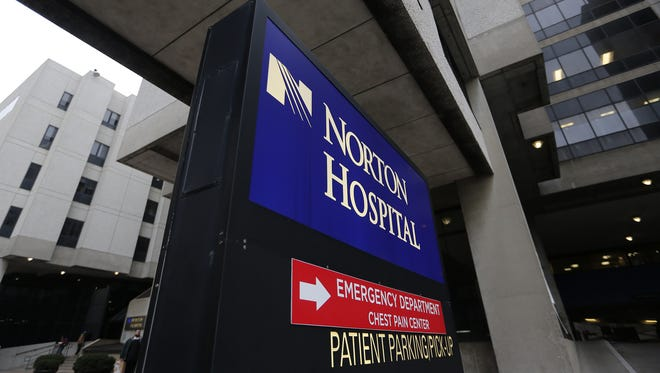 A handful of Norton Healthcare facilities have collectively grabbed the No. 1 spot in the Louisville area in U.S. News & World Report's latest hospital rankings.