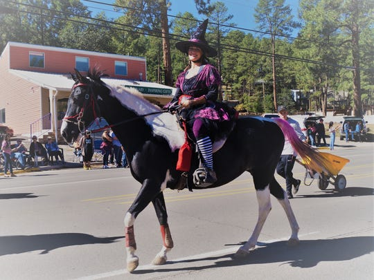 Beautiful horses contributed greatly to the AspenFest