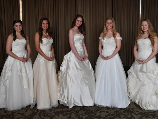Senior-Junior Forum Debutantes 2018. From left, Delaney
