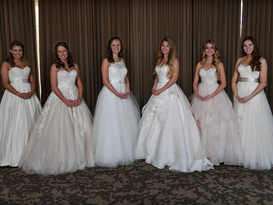 Senior-Junior Forum Debutantes 2018. From left, Abigail