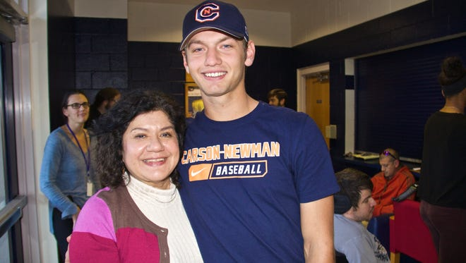 Carolina Day senior MIchael Connelly has signed to play college baseball for Carson-Newman (Tenn.).
