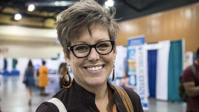 Arizona state Sen. Katie Hobbs.
