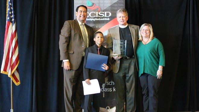 Church of the Good Shepherd was recognized as Corpus Christi ISD's Partnership of the Year for the district's 2016-2017 iAchieve Partners in Education Awards. An awards luncheon was hosted Thursday March 30, 2017 at the Solomon P. Ortiz Convention Center.