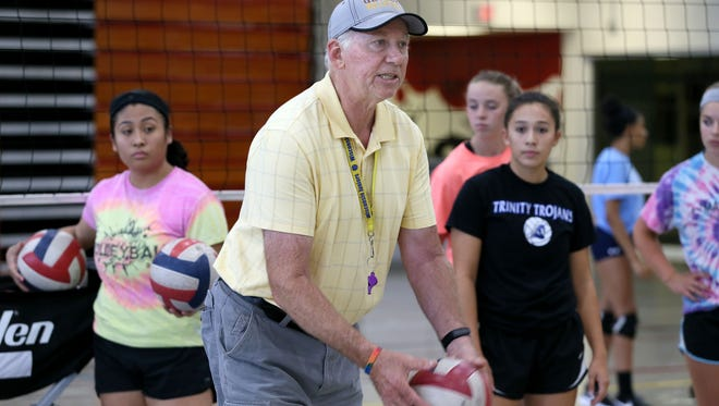 After 37 years at Westosha Central, volleyball coach Charlie Berg has taken on a new challenge at Kenosha Christian Life.