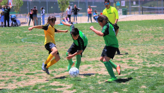 Lincoln County Youth Soccer teams competed at the Soccer Field on Hull Road May 12.