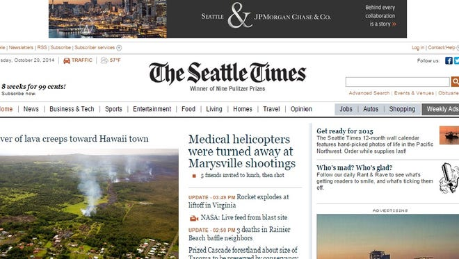 The FBI forged an AP story on a fake Seattle Times web page to investigate a bomb threat suspect.