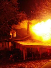 A home in North College Hill caught fire for the second