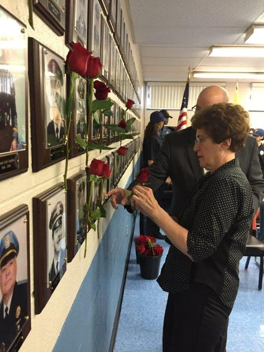 VIN POLICE REMEMBRANCE CEREMONY PIX