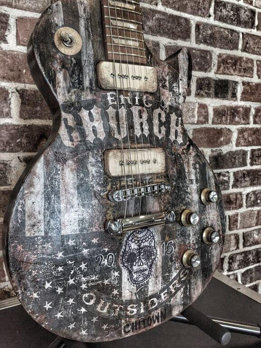 Eric Church guitar