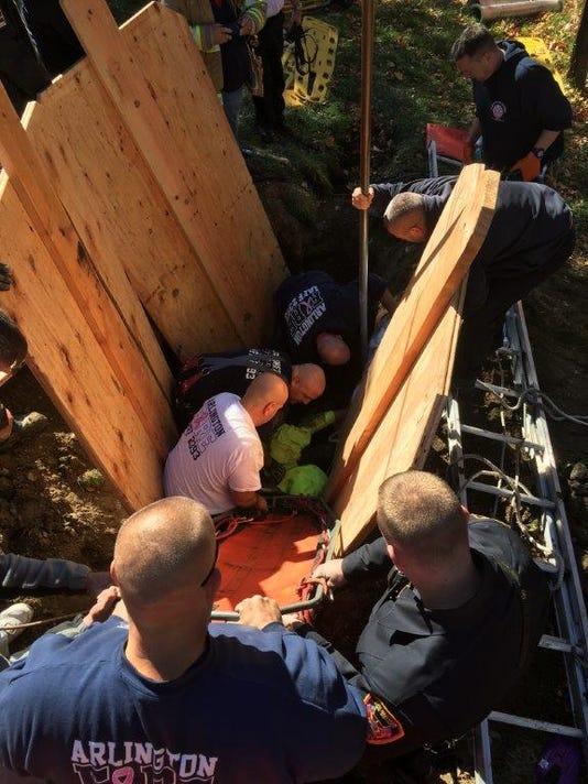Van Wagner Road rescue