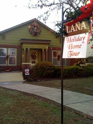 This home was featured on a previous LANA Holiday Home Tour.
