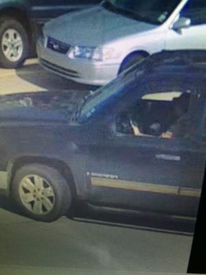 Caddo Sheriff's Office is seeking the public's help in identifying the driver of this GMC pickup.
