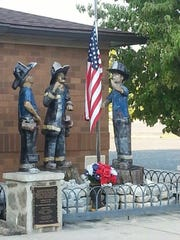 The Sept. 11, 2001 memorial pictured at Vineland Fire