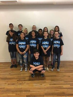 The San Angelo Aqua Squad 2017