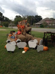 The patch is also home to a maze, hayrides, face painting,