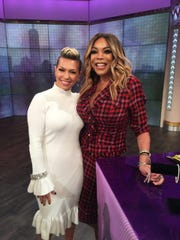 Melissa Garcia with Wendy Williams