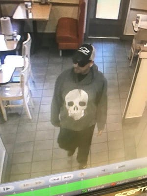 A photo of the suspect in a May 28, 2018 robbery of Captain D's.