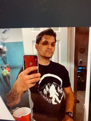 Peter Ciullo, wearing the shirt he was last seen in on Thursday at 5:30 p.m.