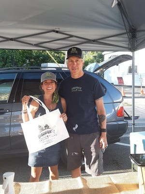 Starwalker Farms' Michele and Tory Ponsford are two of the vendors who will be at Thursday's Farmers Market in Dunsmuir.