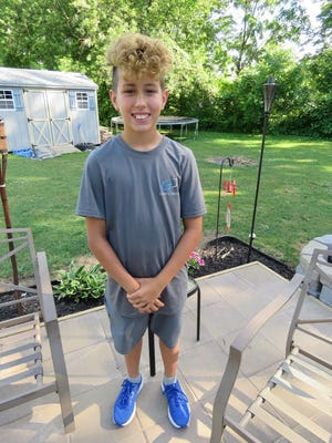 Bryson Galloway, 12, celebrated his birthday in an unusual manner -- running and raising funds for Grady's Decision, an Erie nonprofit organization.