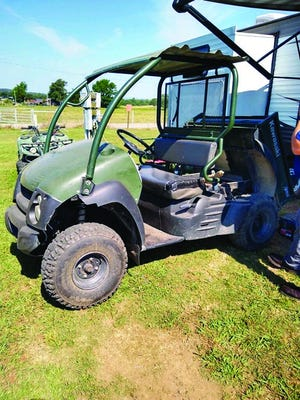A UTV owned by the City of Booneville was recovered in Heavener, Okla., through a Logan County Sheriff's Office investigation.