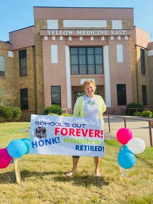 Robin Henderson retires after 20 years of YME service.