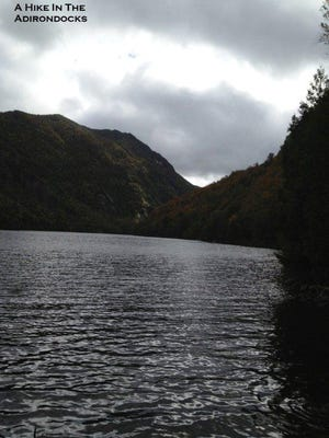 Lower Ausable Lake in New York makes an easy day hike from Vermont.