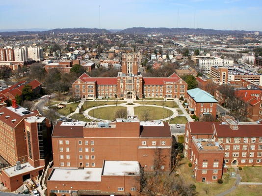 The Hill and Ayres Hall at the University of Tennessee