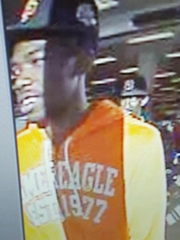 State poice looking to identify this man who they say was at scene of attempted robbery Oct. 17, 2015, at Marshalls department store in Cortlandt Town Center.