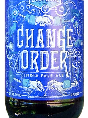 Dust Bowl Change Order, from Dust Bowl Brewing Co. in Turlock, Calif., is 7% ABV.