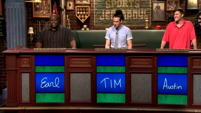 "No longer the challenger it was up to me to make an attempt to defend my ""Sports Jeopardy!"" crown."