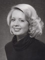 Channel 10 news anchor Mary Jo West in 1977.