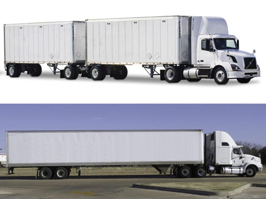 Bigger Trucks Weigh Economics Against Safety