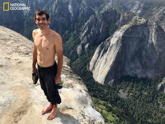 AP YOSEMITE CLIMBING RECORD A USA CA