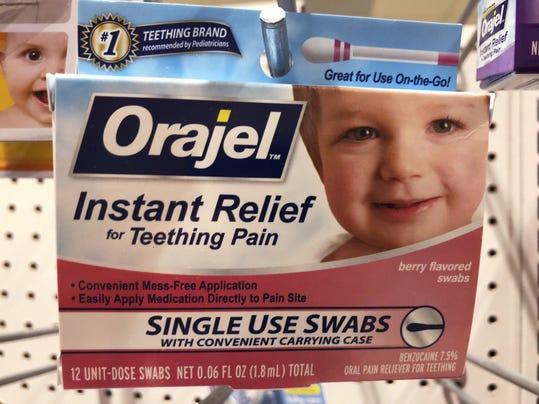 Teething Products Warning