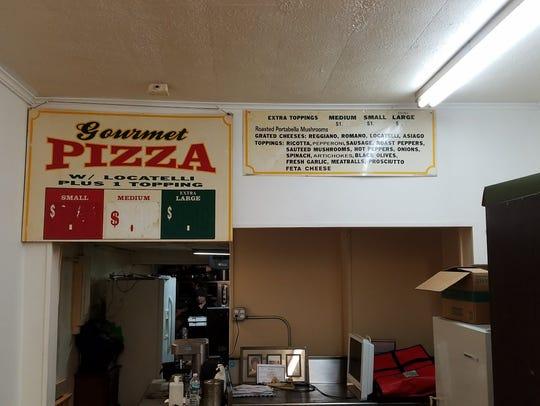 Nino's Pizzeria on Culver Road.