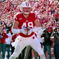 Wisconsin tight end and Merrill graduate Sam Arneson says he won't pursue an NFL career because of long-term health concerns.