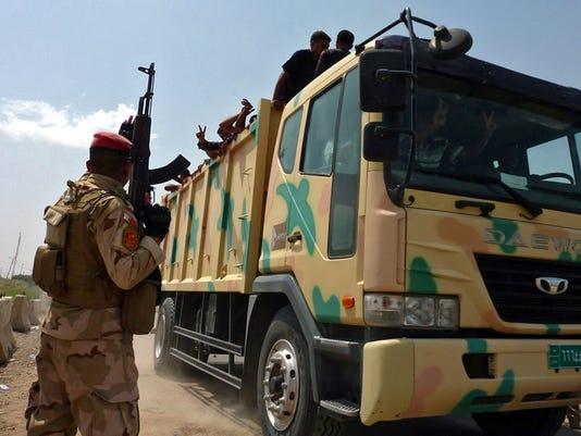 EPA IRAQ UNREST BAGHDAD