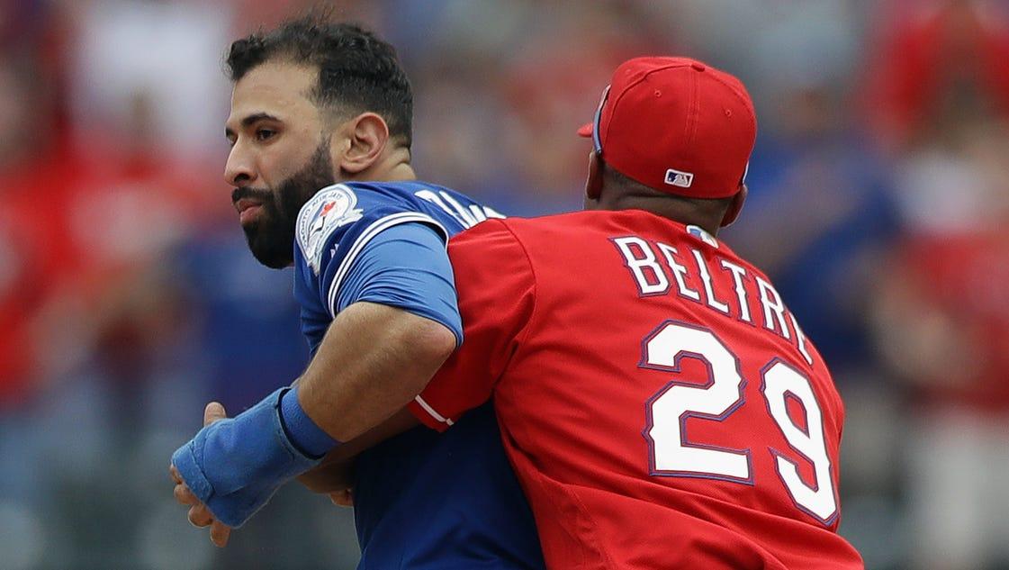 Blue Jays-Rangers brawl shows MLB can't legislate emotions on the field