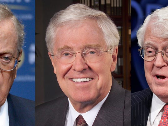 Koch brothers are american born but not george soros for David koch usa